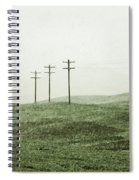 Plasticine Fields Spiral Notebook