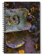 Plate 59 Spiral Notebook