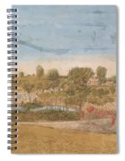 Plate IIi The Engagement At The North Bridge In Concord 1775 Spiral Notebook