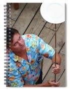 Plate Juggler 6689 Spiral Notebook