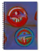 Plate State Spiral Notebook