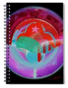 Plate State Red Spiral Notebook