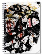 Plated Love Spiral Notebook