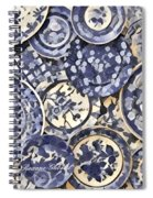 Plates Party 1 Spiral Notebook