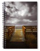 Platform To The Sky Spiral Notebook