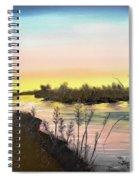 Platte River Sunrise Spiral Notebook