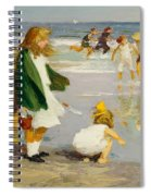 Play In The Surf Spiral Notebook