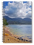 Play Time In Princeville Spiral Notebook