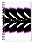 Play Track 7 Spiral Notebook