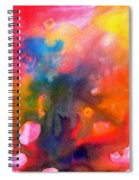 Play With Colours Spiral Notebook