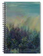Playful Colorful Morning Spiral Notebook