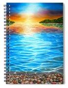 Playful Light Spiral Notebook