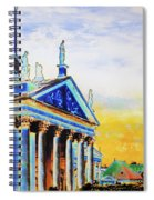 Playhouse And French Dome Spiral Notebook