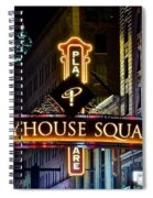 Playhouse Square Up Close Spiral Notebook