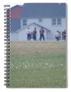 Playing Ball With Friends Spiral Notebook