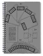 Playing Cards Patent 1889 Spiral Notebook