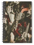 Playing Cowboys And Indians Spiral Notebook
