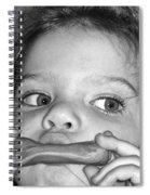 Playing Her Playdough Spiral Notebook