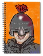 Playing Knight Spiral Notebook