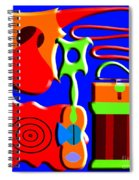 Playing Music Spiral Notebook