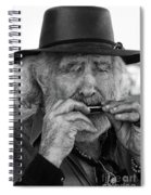 Playing The Blues Spiral Notebook