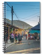 Plaza Central Apaneca Spiral Notebook