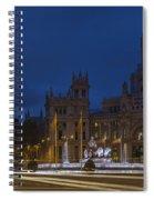 Plaza De Cibeles Madrid Spain Spiral Notebook