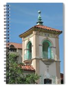 Plaza Tower Spiral Notebook
