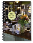 Please Wait To Be Seated Spiral Notebook