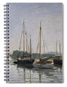 Pleasure Boats Argenteuil Spiral Notebook