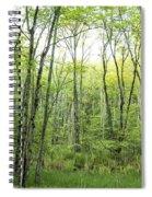 Pleasure Of Pathless Woods - Nat Spiral Notebook