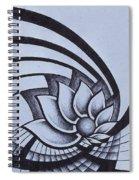 Pleiadean Daisy Spiral Notebook