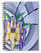 Pleiadean Sunflower Spiral Notebook
