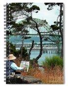 Plein Air Artist Spiral Notebook