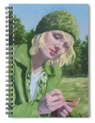 Plein Air Crocheting Spiral Notebook
