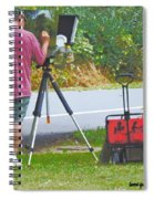 Plein Air L'automne Spiral Notebook