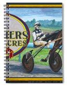 Pletchers Racing Mural Shipshewana Spiral Notebook