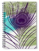 Plumage 2-art By Linda Woods Spiral Notebook
