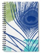 Plumage 3- Art By Linda Woods Spiral Notebook