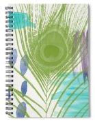 Plumage 4- Art By Linda Woods Spiral Notebook