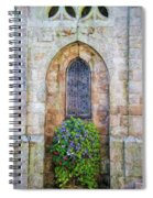 Plumergat, Brittany,france, Parish Church Window Spiral Notebook