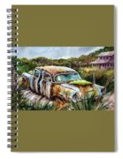 Plymouth On The Rocks Spiral Notebook