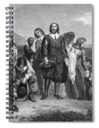 Plymouth Rock: Landing Spiral Notebook