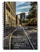 Plymouth Street Sundown Spiral Notebook