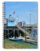 Plymouth Waterfront Spiral Notebook