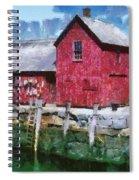 Pnrf0513 Spiral Notebook