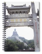 Po Lin Monestary Spiral Notebook