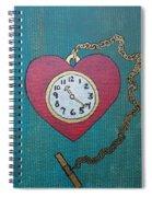 Pocketwatch Spiral Notebook