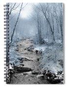 Pocono Mountain Winter Spiral Notebook