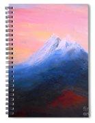 Poetic Light Spiral Notebook